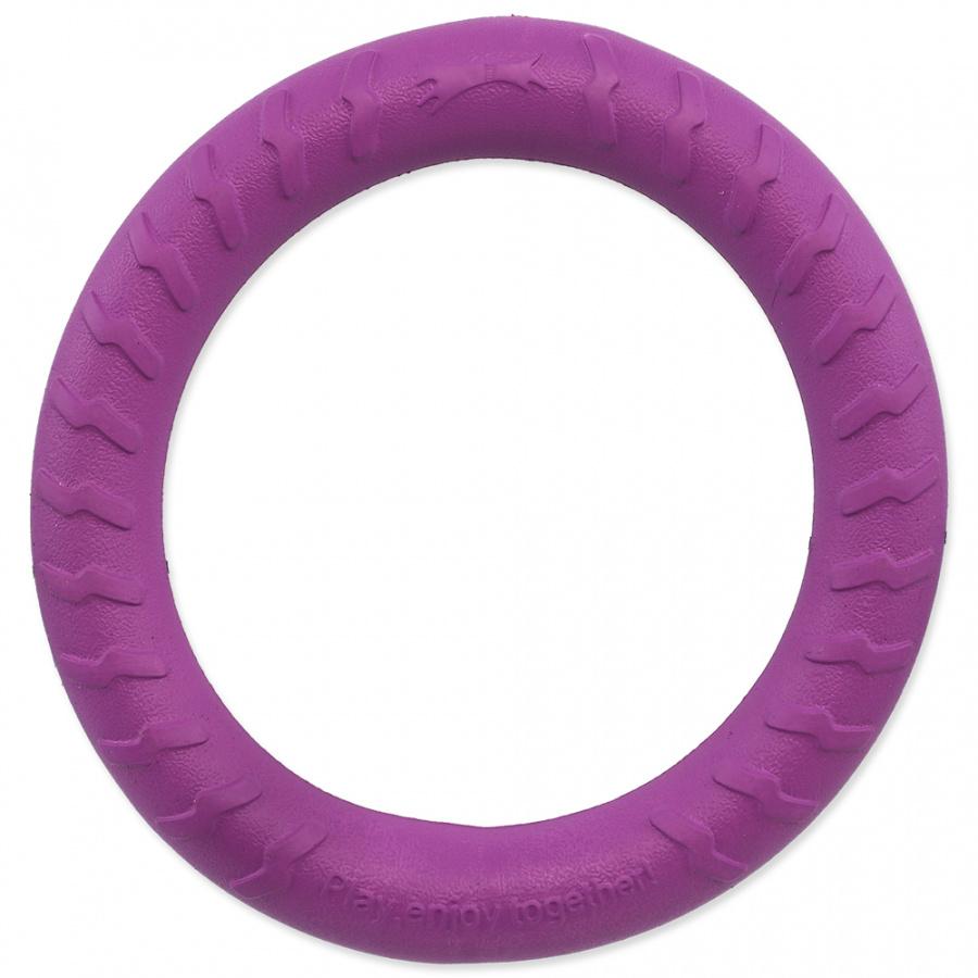 Hračka Dog Fantasy EVA kruh fialový 30cm