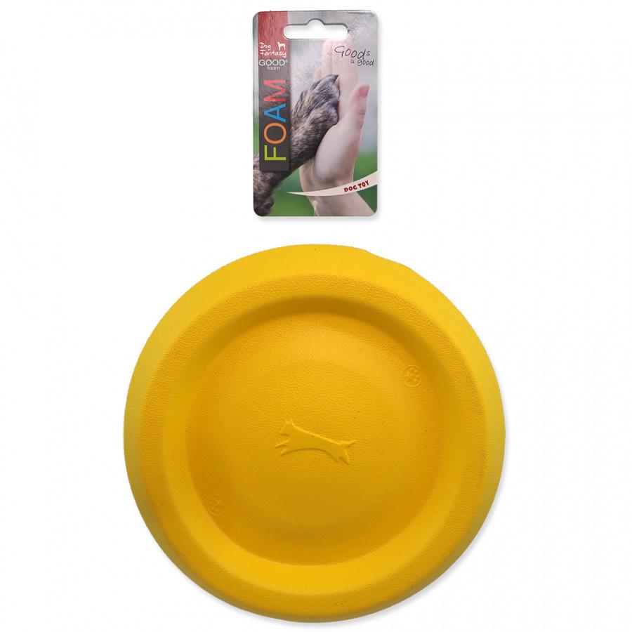 Hračka Dog Fantasy EVA frisbee žlutý 22cm