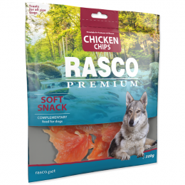 Pochoutka Rasco Premium plátky s kuřecím masem 500g