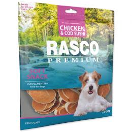 Pochoutka Rasco Premium sushi z tresky a kuřete 500g