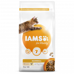 IAMS Cat Adult Hairball Reduction Chicken