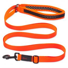 Vodítko Tamer Softy prodlužovací 3,3x300cm oranžovočerné