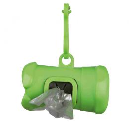 Zásobník na sáčky na psí výkaly Trixie + 15 sáčků velikost M