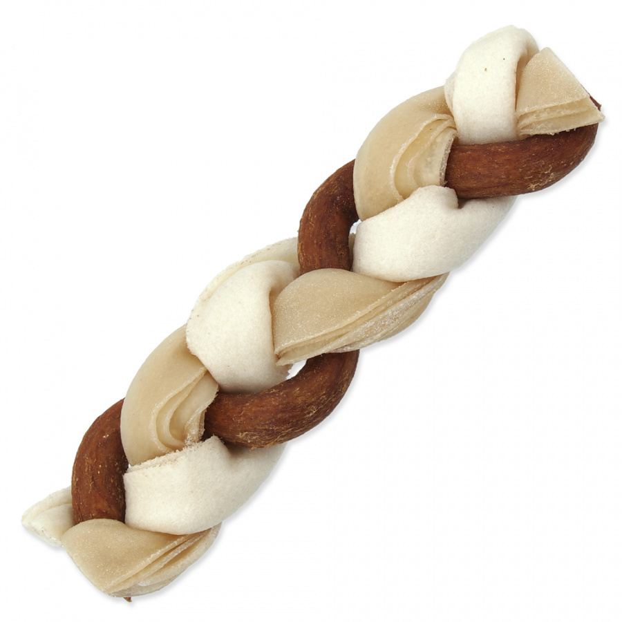 Ontario Rawhide Snack Braided Stick Mix 17,5 cm 1 ks