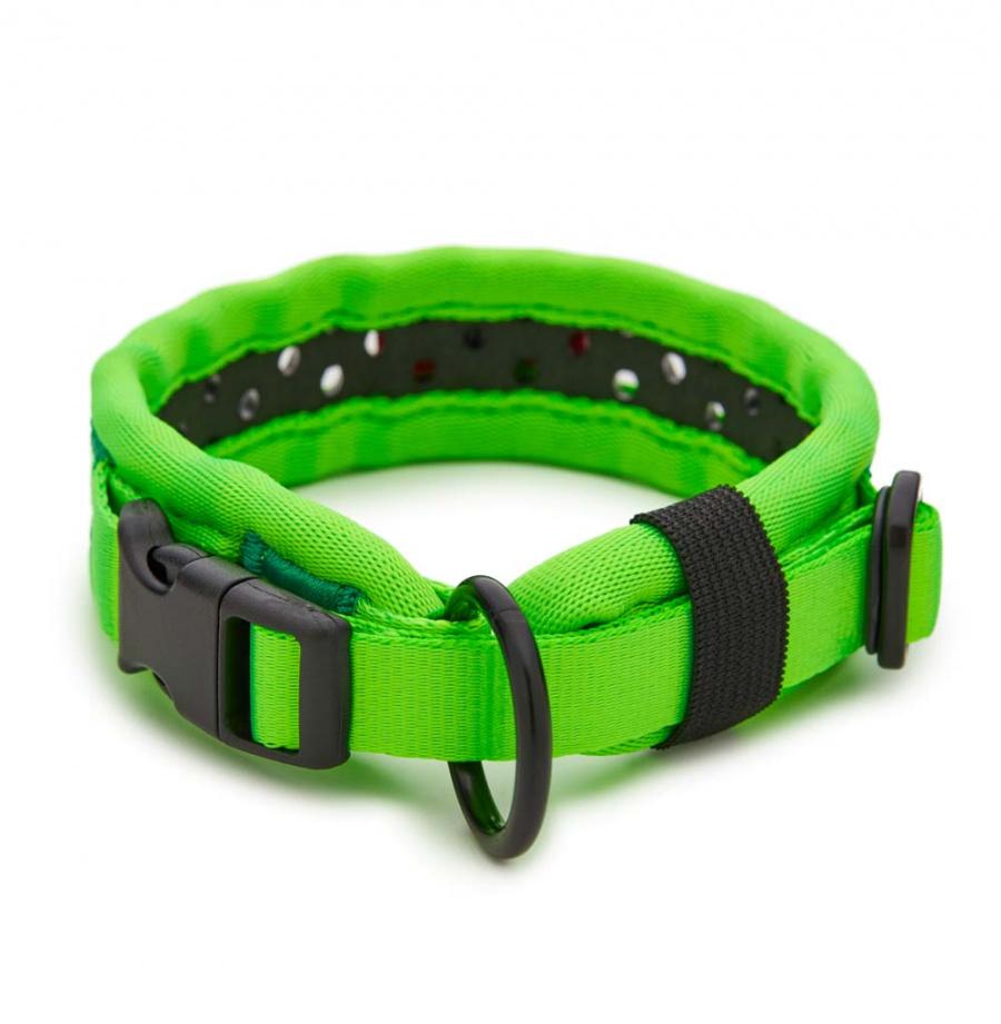 Obojek Tamer Softy 2,8x36cm zelenočerný