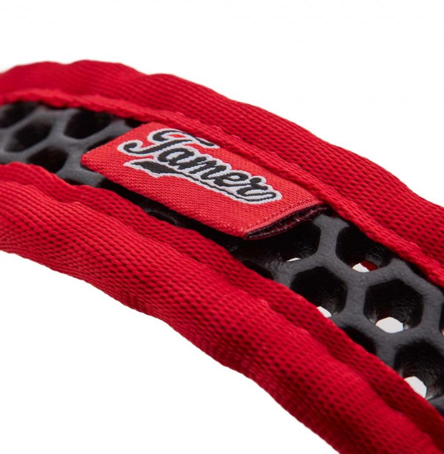 Obojek Tamer Softy 3,3x36cm červenočerný