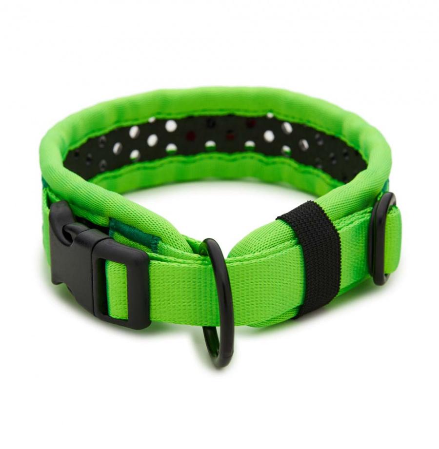 Obojek Tamer Softy 3,3x36cm zelenočerný