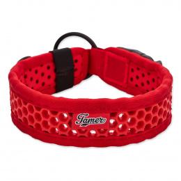 Obojek Tamer Softy 3,8x51cm červený