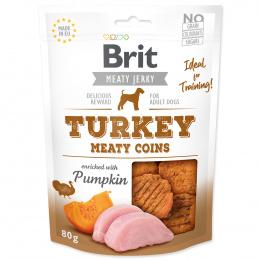 Brit Jerky Turkey Meaty Coins 80g