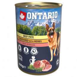 Konzerva Ontario Beef Pate flavoured with Herbs 400g