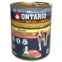 Konzerva Veal Pate Flavoured with Herbs 800g