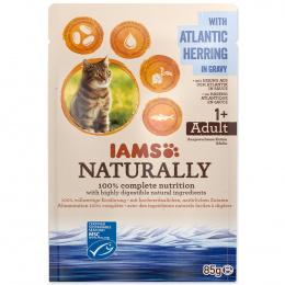 Kapsička IAMS Naturally sleď v omáčce 85g