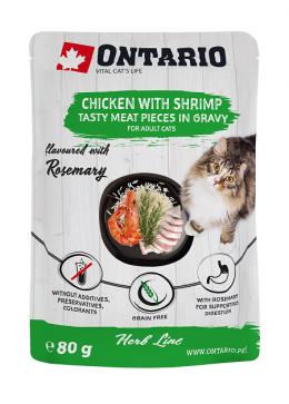 Kapsička Ontario Herb Chicken with Shrimps 80g