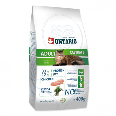 Ontario Adult Castrate 0,4kg title=