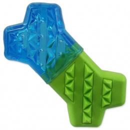 Chladící kost Dog Fantasy zeleno-modrá 13,5cm