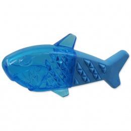 Chladící žralok Dog Fantasy modrý 18cm