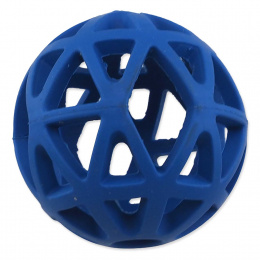 Děrovaný míček Dog Fantasy modrý 7cm