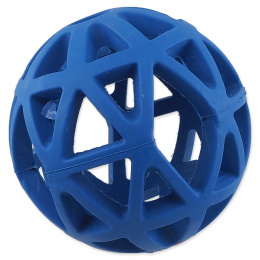 Děrovaný míček Dog Fantasy modrý 9cm