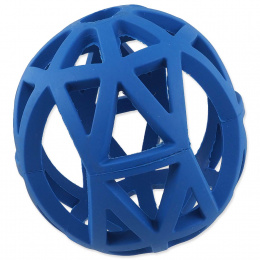 Děrovaný míček Dog Fantasy modrý 12,5cm