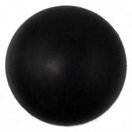 Míček Dog Fantasy tvrdý černý 7cm