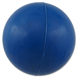 Míček Dog Fantasy tvrdý modrý 5cm