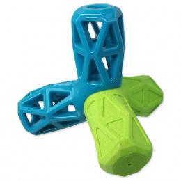 Hračka Dog Fantasy geometrická modro-zelená 12,9cm