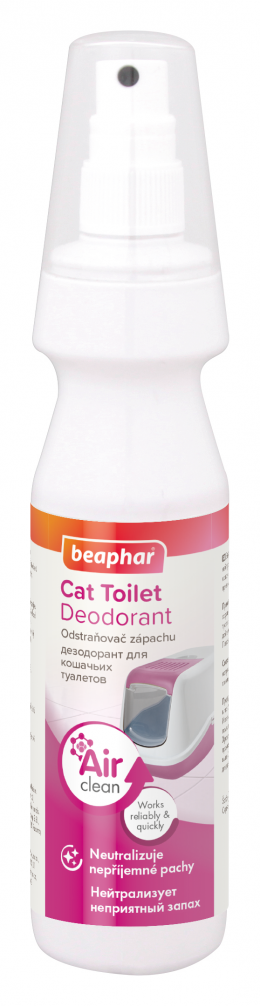 Neutralizér zápachu do kočičích toalet Beaphar 150 ml