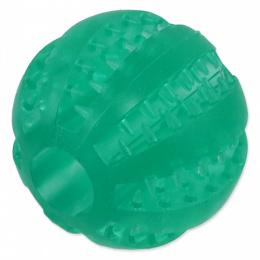 Míček Dog Fantasy Dental Mint zelený 7cm