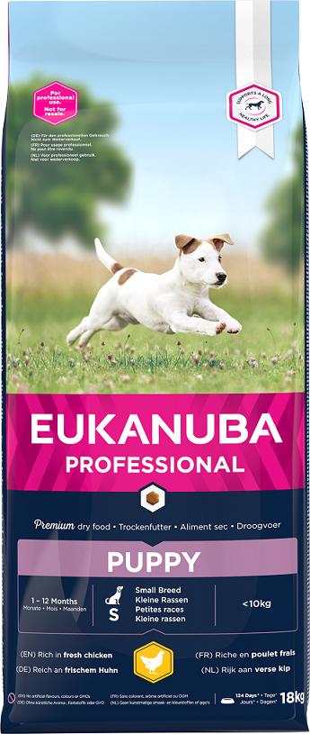 EBC Eukanuba Puppy & Junior Small 18kg  title=