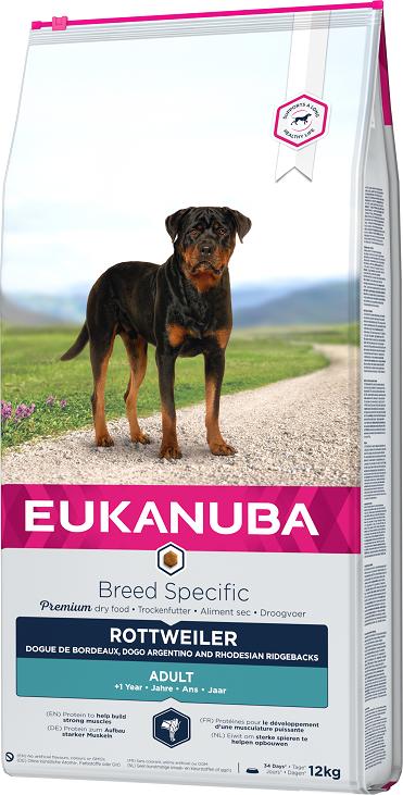 Eukanuba Breed Specific Rottweiler 12kg title=