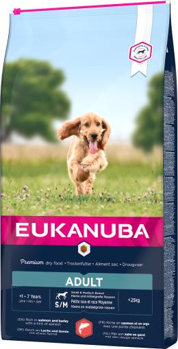 Eukanuba Adult Small & Medium Salmon 2,5kg