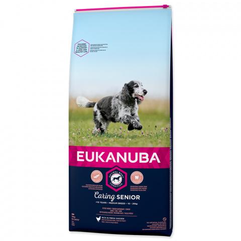 Eukanuba Senior Medium 15kg title=