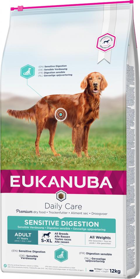 Eukanuba Daily Care Sensitive Digestion 12kg title=