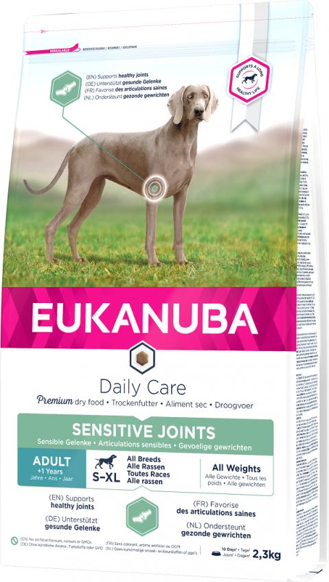 Eukanuba Daily Care Sensitive Joints 2,3kg title=