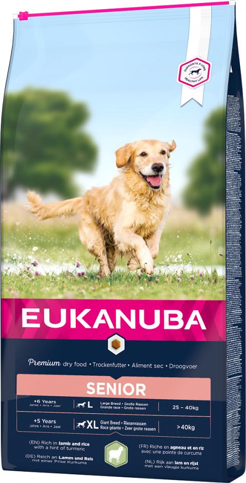 Eukanuba Senior Large & Giant Lamb 12kg title=