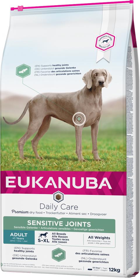 Eukanuba Daily Care Sensitive Joints 12kg title=