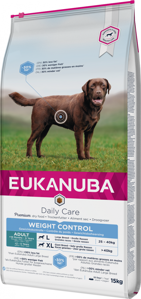 Eukanuba Daily Care Large Weight Control 15kg title=