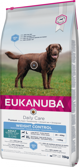 Eukanuba Daily Care Large Weight Control 15kg
