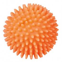 Hračka pro psy Trixie míček vinylový s bodlinami se zvukem 7cm