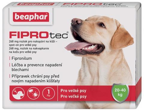 Spot on Fiprotec pro psy L 20-40kg s krátkou expirací