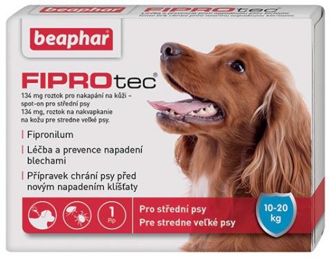 Spot on Fiprotec pro psy M 10-20kg s krátkou expirací