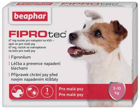 Spot on Fiprotec pro psy S 5-10kg s krátkou expirací