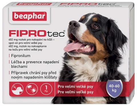 Spot on Fiprotec pro psy XL 40-60kg s krátkou expirací