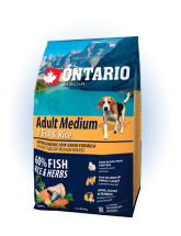 Ontario Adult Medium Fish & Rice