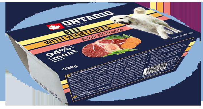 Vanička Ontario Beef with vegetable 305g