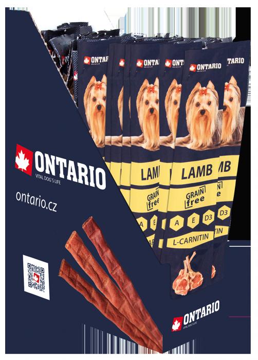 Tyčinka Ontario Stick for dogs Lamb 15 g
