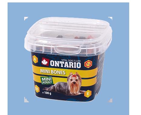 Ontario Snack Mini Bones 100 g