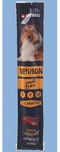 Tyčinka Ontario Stick for dogs Venison 15g