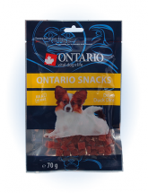 Ontario Snack Duck Dice Small dog 70 g