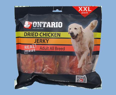 Ontario Snack Dry Chicken Jerky 500 g